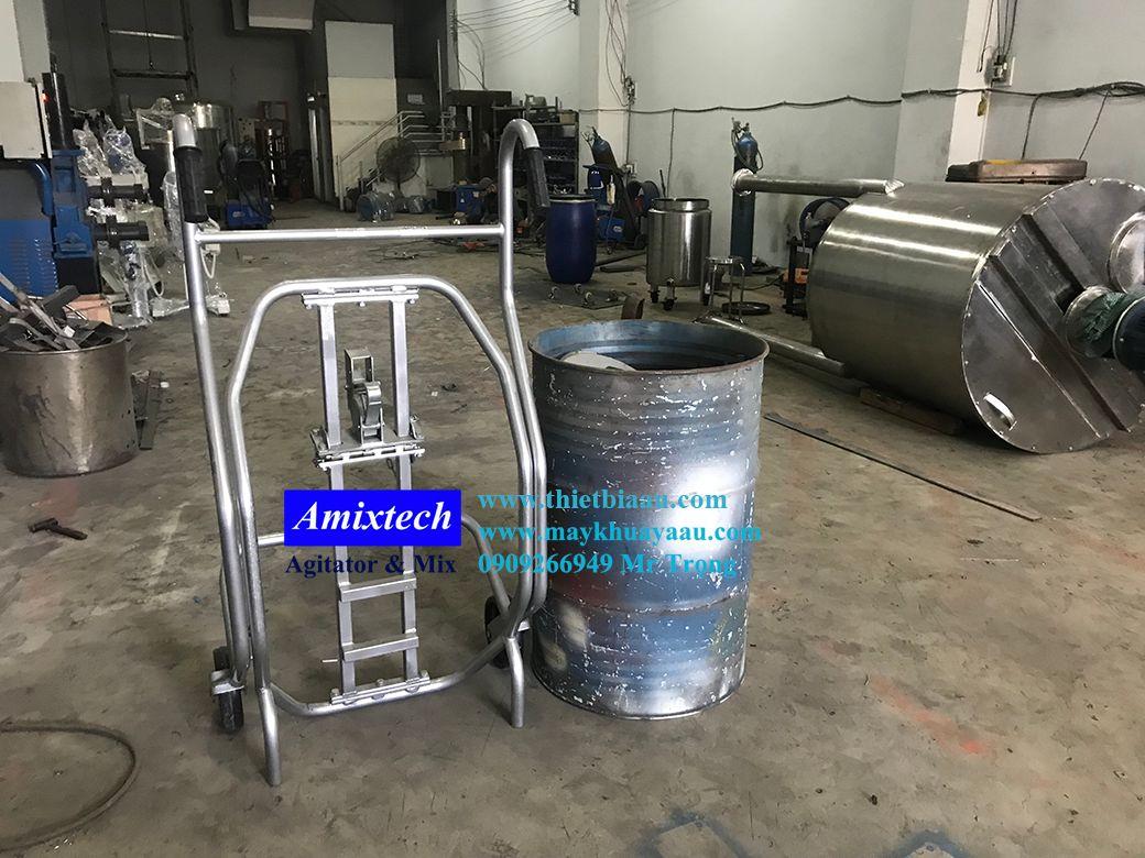 xe đẩy thùng phuy đa năng DE500
